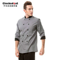Free  shippingMeters to 2013 new special hotel Hotel colored long-sleeved clothing chef cook overalls 813 649