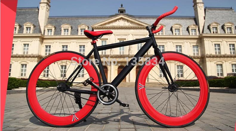 "B133  New 2014 fixed gear Bike Bicicleta 700C  fixie Road Bike  26""  road bicycle bycicle fat bike race bike cycling bici 70cm(China (Mainland))"
