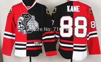 New 2014 Chicago Blackhawks 88 Patrick Skeleton Head Split Hockey Jersey Cheap Best Quality Stitched logos Free shipping