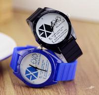 Free Shipping, Best Seller EXO Men  Women Brand  Wrist  Luxury Sports Watches For Fashion