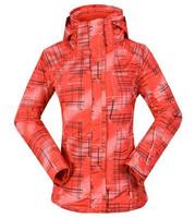 Personalized 3in1 fleece liner Detachable Travel mountaineering jacket / outdoor jackets ladies skiwear