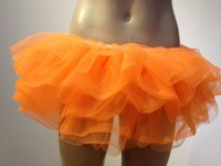 whole sale Sexy Layered Ruffle Mini Tutu Skirt Burlesque Petticoats Clubwear Dance Ball Gown S003