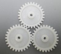 Plastic gears / modulus M1 tooth 28 large torque / 3.1mm aperture a modulus / spur gear
