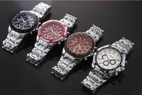 CURREN 8084 Hot Sale Fashion Men's Military Sports Watch Stainless Steel Quartz Analog Wristwatch Watches