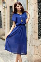 2014 knee-length dress for women ,roupas femininas