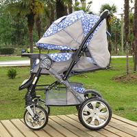 Bora q7 baby stroller umbrella stroller two-way trolley four wheel folding