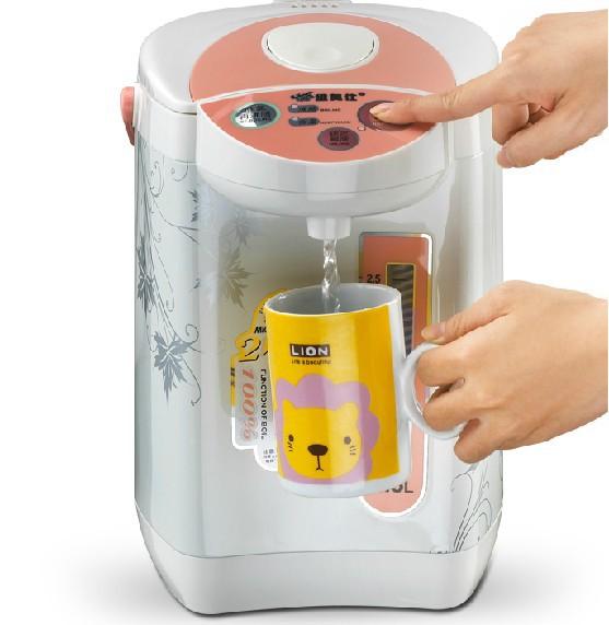 Rápido grátis frete 3.3 litro caldeira de água elétrica e mais quente pote termo elétrica chá dispensador de água quente chaleira(China (Mainland))