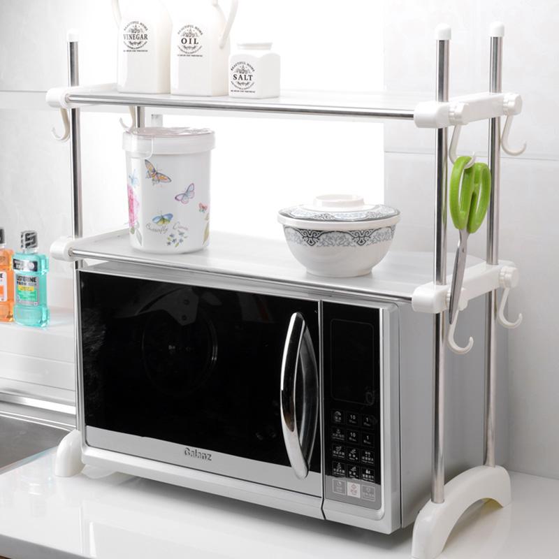 Keuken Rek Kopen : Stainless Steel Microwave Shelves
