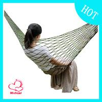 Outdoor Travel Camping Hammock Garden Portable Nylon Hang Mesh Net Sleeping Bed OD1