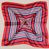 1Pcs 100% Silk Scarf Square Women's Bandana Neck Dress Shawl Wraps Satin/60*60cm/WJ-147