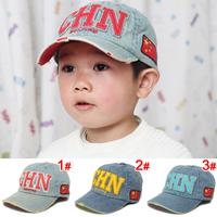 The new children's cowboy hat CHN boys and girls summer baseball cap visor casual