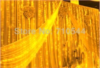 Warm White,10X4M 1280 Led Curtain light String Christmas Wedding 110V 220V Waterproof Controller Free DHL