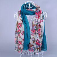 free shipping ladies shawls viscose long floral popular head cotton plain wrap popular muslim/hijab scarf/scarves10pcs/lot