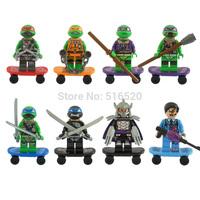 Wholesale Decool Teenage Mutant Ninja Turtles TMNT Figures Toys Building Blocks Sets Model Bricks Minifigures Toy 501-508