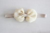 Chiffon hair flower headband bows headbands kids accessories gilrs headbands 20 colors 240pcs