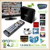 MX smart box XBMC Aml8726 MX TV Box Android Dual Core 4.2.2 Google TV Box