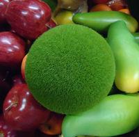 12CM Artificial plant foam green moss ball decorative crafts event & party supplies flower decoration 16pcs/lot