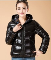 Fashion women's coat with a hood 2014 winter jacket women jackets parka slim casual coats plus size thick cotton-padded jacket