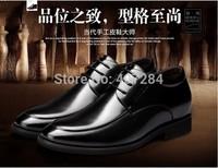 Men elevator shoes men's  7cm men elevator leather business formal shoes men's elevator Dress Shoes
