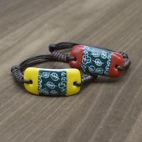 Pulseiras Femininas Bracelets Bangles One Direction 2014 New Original Bracelets Small Fresh Lovers Bracelet Ceramic Accessories