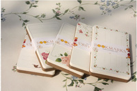 Holiday greeting card Graffiti Mini Vintage Blank Diy Message Card Kraft 350G Paper Small Printing Greeting Card 8.6cmX5.4cm