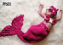 Gros pink mermaid tail