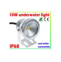 10W LED Flood Light Underwater Lamp cool White 6000K Waterproof IP68 DC12V 900LM led spotlight,outdoor LED underwater light