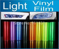 "392"" x 12"" (1000cm X 30cm) 1 Roll Auto Car Sticker Smoke Fog Light HeadLight Taillight Tint Vinyl Film Sheet Free Shipping AAA"