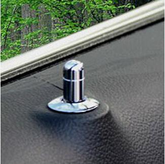 Stainless steel Chrome trim Door Lock Stick Pin Cap car auto part For Chevrolet Cruze hatchback sedan(China (Mainland))