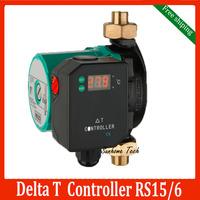 Split solar water heater controller Delt T 15/6, 220V circulation pump combined solar water heater controller free shipping