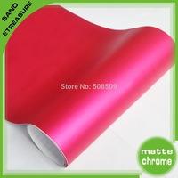 Wholesale Metallic Matte chrome Vinyl Car Film 1.52x30m With Air Drain