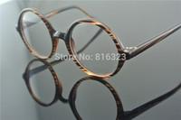 50mm  50's Vintage Round Glasses Eyeglass Frame Full-Rim Retro Eyeglasses