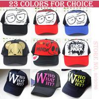 wholesale Mesh cap snapbacks caps hip hop baseball cap snapback hats for women men 2014 new M74