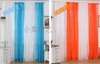 Rural contracted project high-grade pure  gauze shade partition window curtain pervious customization mosquito nets