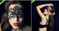 FD113 Halloween Masquerade Sexy Lady Black Lace Mask Eye Mask 1pc Free Shipping