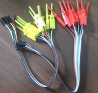 Quality test of the quality test hook clip. Logic analyzer test folder