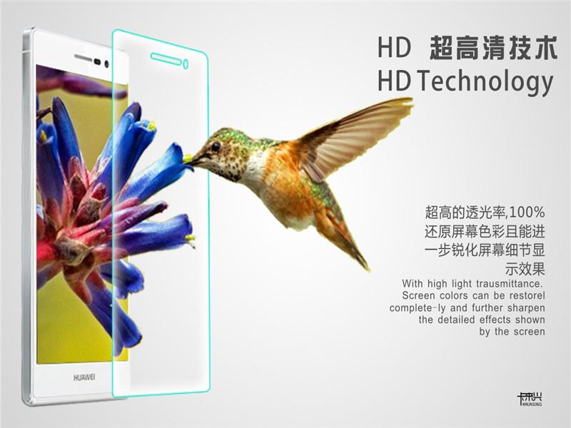 Anti rayures protecteur d'écran transparent pour huawei montent p7 film écran de haute qualité