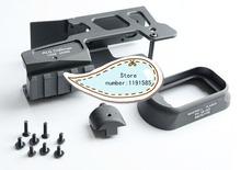 ALG Defence Glock 17/18C Aluminum Optic Mount w/ AFM Flared Magwell Black(China (Mainland))