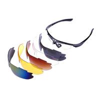 2014 HOT SALE 5 lens set bicycle glasses driving sunglasses women mountain bike  riding travel sun glasses running glasses men