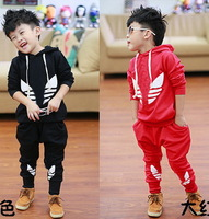 Brand Kids suits Clothing Children outerwear sport sets fleece hoodies+Pants Winter autumn boys girls twinset tracksuit clothes