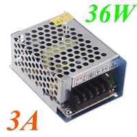 AC 100V-240V to DC 12V 3A 36W Voltage Transformer Switch Power Supply for Led Strip LED display billboard Led control