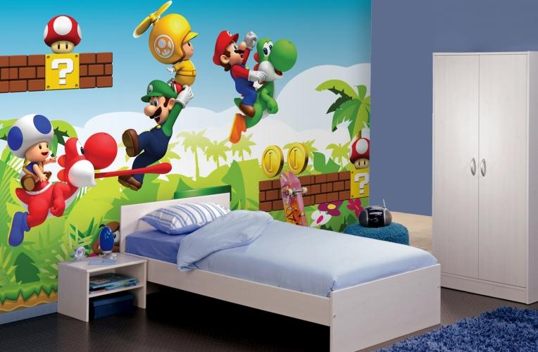 ... Behang : ... landelijke landschap woonkamer slaapkamer behang behang