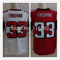 2014 Draft Pick Men's Football Jersey Devonta Freeman #33 Elite Sprots Jerseys-Red,White, Sz:40~56+Free Shipping,Mix Order