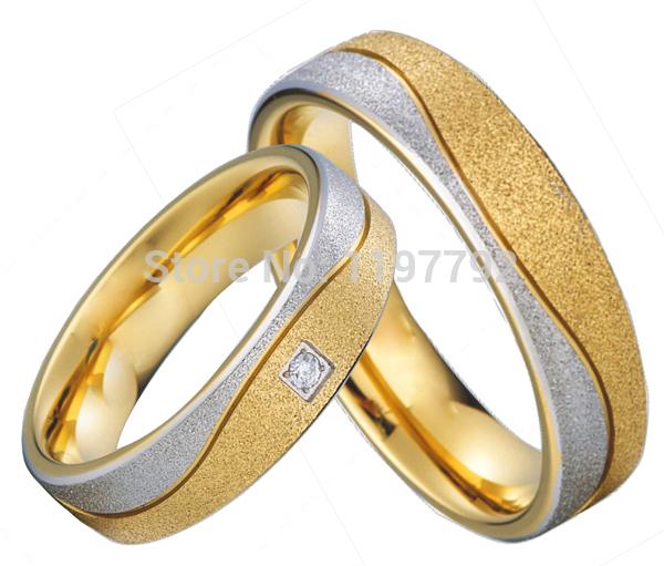 get cheap titanium wedding ring sets aliexpress