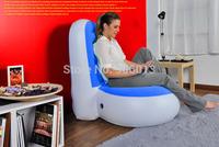 Jilong living room furniture one seat inflatable sofa bean bag sofa 90*80*94cm Inflatable PVC sofa free shipping