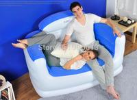 jilong double seat air sofa set in living room furniture bean bag sofa,size147*91*89cm,free shipping