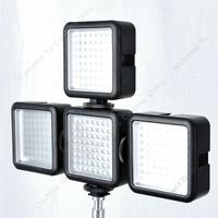 Free Shipping!4pcs* Godox LED64 Video 64 LED Lights for DSLR Camera Camcorder mini DVR