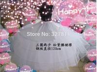 Wedding dress pannier plus size hard yarn big panniers 2 yarn extra large pannier elastic waist
