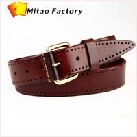 Amazing Italy Vegetable Cow leather black belt / natural undyed belt 1 screw leather quarter century belt 25 years guaranteed