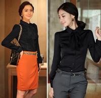 Fashion Women Shirt OL Style Shirt Long Sleeve Casual Female Tops